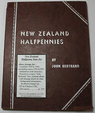 New Zealand Complete Halfpenny Date Set 1940 to 1965 EF to Ch. UNC (26 Coins)