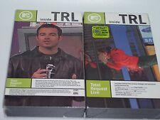 MTV: Inside TRL - Total Request Live [VHS] (2000) - New Sealed