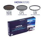 Hoya Digital Filter Kit Set 77mm Ultraviolet UV + Graufilter ND8 + Polfilter CPL