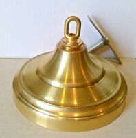 "6 1/2""  Spun Brass Ceiling Canopy Loop and parts included"