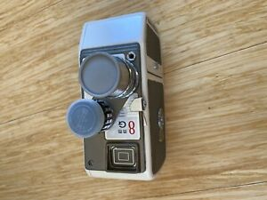 Vintage Original Mamiya 8MM Movie Camera *Working* With Case And Documents