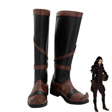 Asami Sato Shoes Cosplay Avatar The Legend of Korra Women Boots