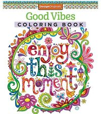 Adult Coloring Book Good Vibes (Coloring Is Fun) 2 DAY FREE SHIPPING