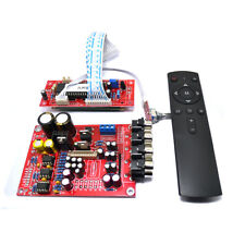 5.1 M62446 Pre-Amp /Amplifier Board + Volume Remote Control Controller 6-channel