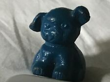 Blue Pup Cast Iron Paperweight Advertising - John Blue Company - dog