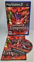 Dynasty Warriors 4: Empires Video Game for Sony PlayStation 2 PS2 PAL TESTED