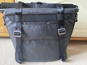 Peak Design Charcoal Everyday Tote Shoulder Bag V1 with tags