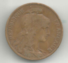 FRANCE 1907 10 CENTS/ CENTIMES COIN;  GOOD CIRCULATED