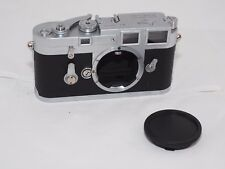Leica M3 double stroke 35 rangefinder user camera body. New leatherette. Cla'd.