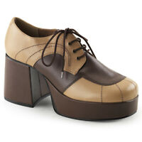 Funtasma JAZZ-06 Tan-Brown PU UK 13 ( Ue 46)