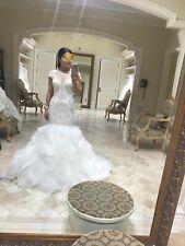 Wedding Dress Size 8| ITALIAN BRAND| 2 In 1 Custom Made| HAND MADE