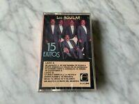 Los Aguilar 15 Exitos Cassette Tape SEALED! ORIGINAL Luna NEW! RARO! NUEVO!