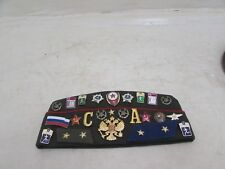 Russian Hat With Imperial Russia Eagle, Enamel Sports Pins + Lots More