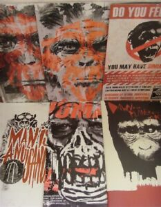 DAWN OF THE PLANET OF THE APES 1-6 B BOOM VARIANT COMIC SET COMPLETE 2014 NM