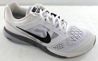 NIKE Tri Fusion Run  Men's Running Shoe  749170-100  White/Black/Grey    NWD