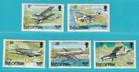 Reino Unido Isle Of Man 1984 Perfecto Estado Minr. 256-260 Aviones