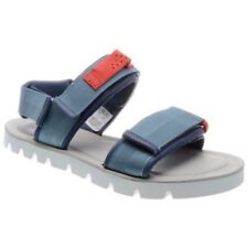 Clarks & Christopher Raeburn Molniya Free Blue Combi Leather Sandal Size UK 9.5