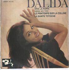DALIDA EP Espagne 1965 Le printemps sur la colline +3