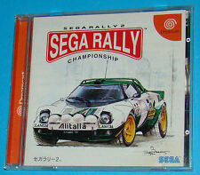 Sega Rally 2 - Sega Dreamcast DC - JAP Japan