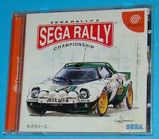 Sega Rally 2 - Sega Dreamcast DC - JAP Japan