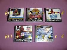 Ps1 _ WCW Mayhem & Box-Champions & 2001 & ready 2 Rumble boxing & SmackDown 2