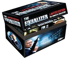 The Equalizer: Limited Edition Complete TV Series DVD Boxed Set Collection NEW!