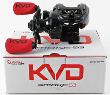 QUANTUM PT KVD SMOKE S3 SKVD100HPT 7.3:1 GEAR RATIO RIGHT HAND BAITCAST REEL