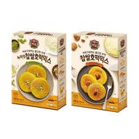 CJ Beksul Hotteok Korean Sweet Pancake Mix Original Green tea 400g (14.1 oz)