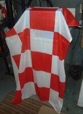 red checker flag / banner / racing / nascar / stock car / europe / reenactment