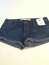 SHORT BLUE DENIM SHORTS..BRAND NEW..SIZE 8..PERFECT FOR HOLIDAYS/BEACH..