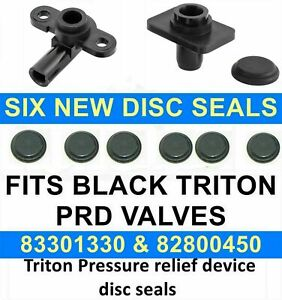 SHOWER PRESSURE RELIEF DEVICE  BURST DISC PRD SEAL FIT TRITON  SHOWERS 82800450