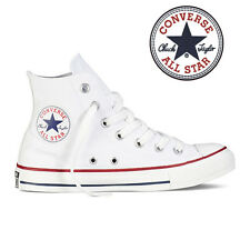 Mens Converse Chuck Taylor All Star High Top Canvas Fashion Sneaker Optic  White 45880ac0eb1