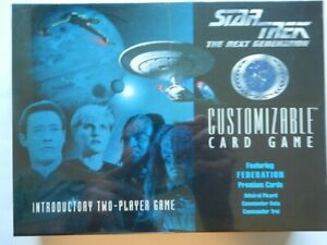 Star Trek CCG Introductory 2-Player Game Federation Edition 1 (factory sealed)