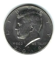 2018-P Philadelphia  Kennedy Brilliant Uncirculated Half Dollar Coin!