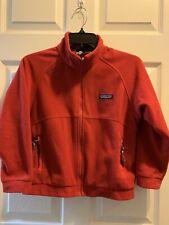 Patagonia Kids 7-8 Unisex Fleece Jacket