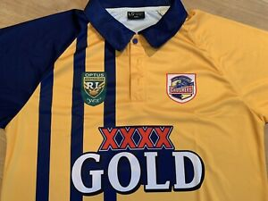 south queensland crushers retro replica jersey ARL / NRL Brand New Large 42 In