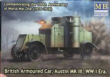 1/72 WW1 Vehicle: Austin Mk III Armoured Car   [UK]  : Masterbox
