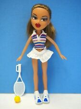 Bratz Doll in Tennis Outfit with Racket and Ball