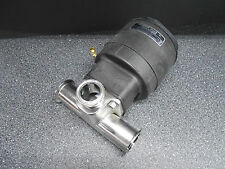 """SAUNDERS EC 33750 PISTON ACTUATOR WITH 2"""" TO 1.5""""  STAINLESS STEEL VALVE BODY"""