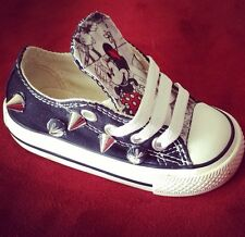 Custom Mickey Minnie Mouse Converse Shoes