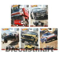 Hot wheels 1:64 Car Culture Wild Terrain Cars FPY86-956Q Set of 5 Premium 2020