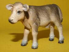 27) Schleich Schleichtier - Brown Swiss Calf Braunvieh Kalb 13255