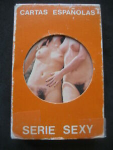 EROTIC PLAYING CARDS, SPIELKARTEN. ADULTS Nº61