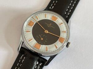 Vintage Ulysse Nardin Men's chrome plated watch Ca.60's