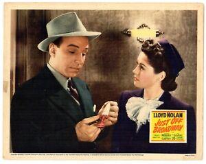 JUST OFF BROADWAY - 1942 Lloyd Nolan as Mike Shayne