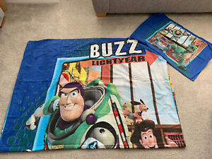 Toy Story X2 Single Quilt Cover Sets Including Pillows, Curtains And Blanket