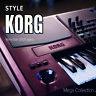 KORG PA Styles Mega Collection of international music styles
