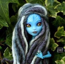 ooak Monster High girl AVATAR style custom repaint