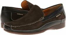 Mephisto Baduard Men's Loafers Shoes Brown/Black Nubuck/Leather Sz 13 *New*