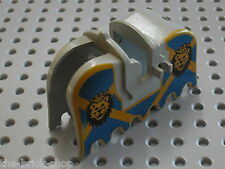 LEGO chateau castle minifig horse barding ref 2490px4 / Set 6091 6098 6095